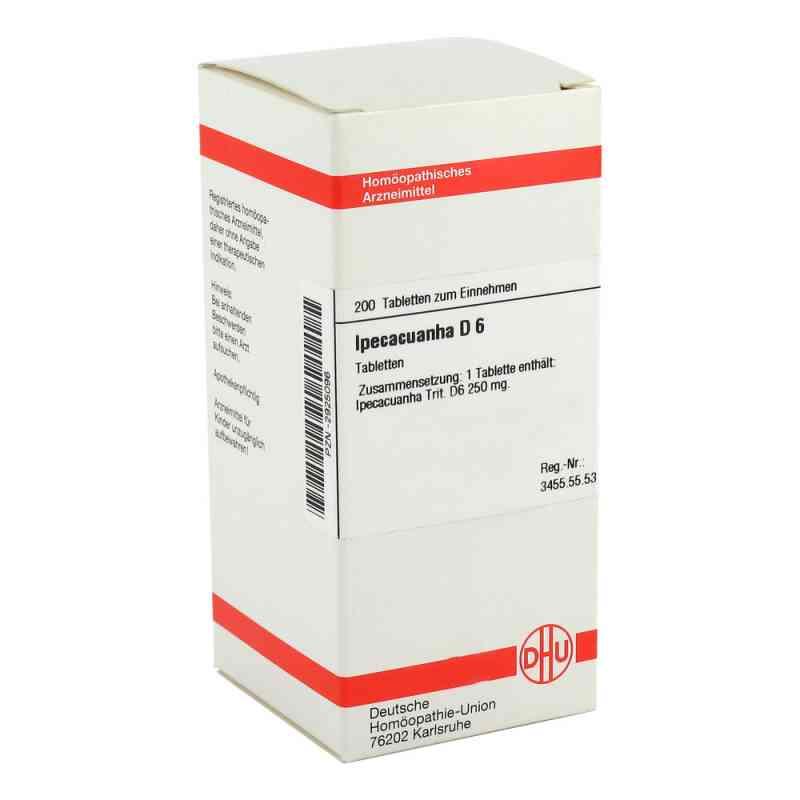Ipecacuanha D6 Tabletten  bei juvalis.de bestellen