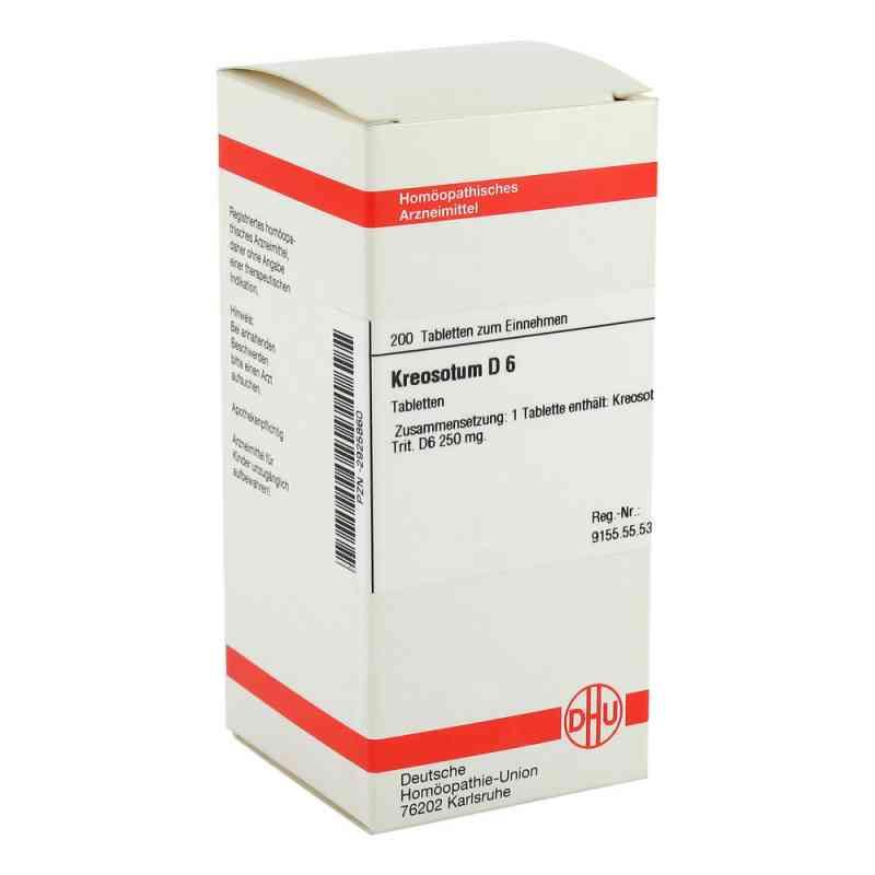 Kreosotum D6 Tabletten  bei juvalis.de bestellen