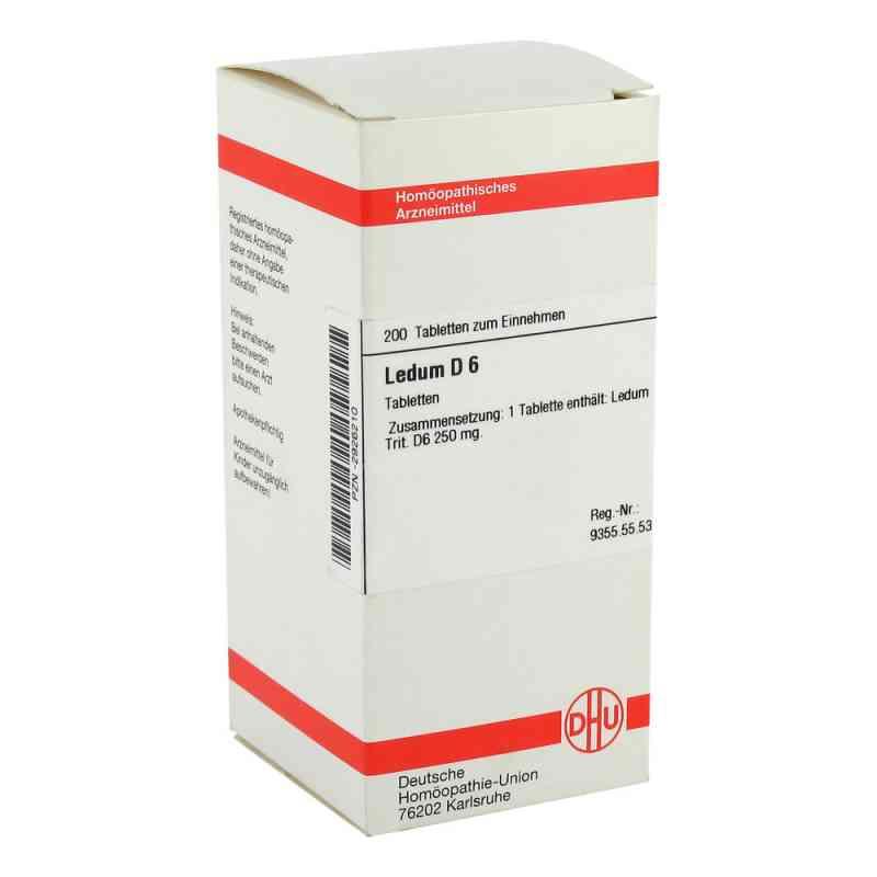 Ledum D6 Tabletten  bei juvalis.de bestellen