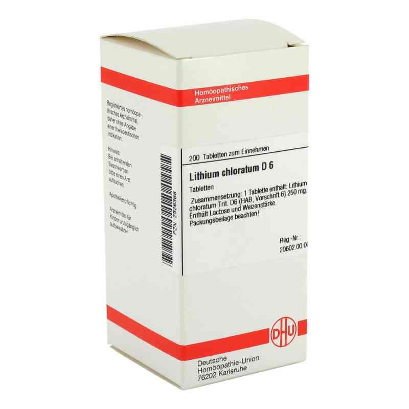 Lithium Chloratum D6 Tabletten  bei juvalis.de bestellen
