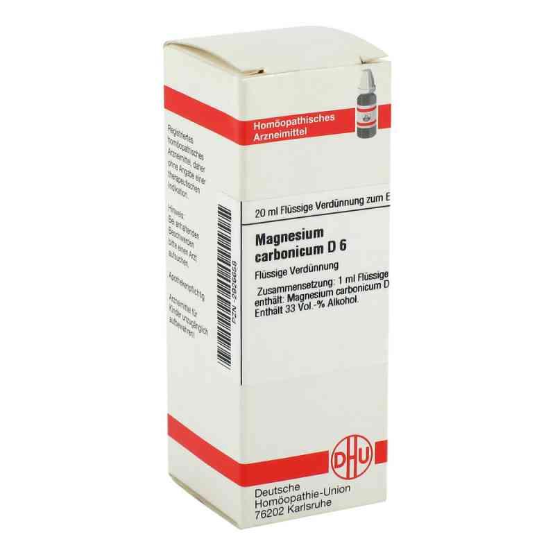 Magnesium Carbonicum D6 Dilution  bei juvalis.de bestellen