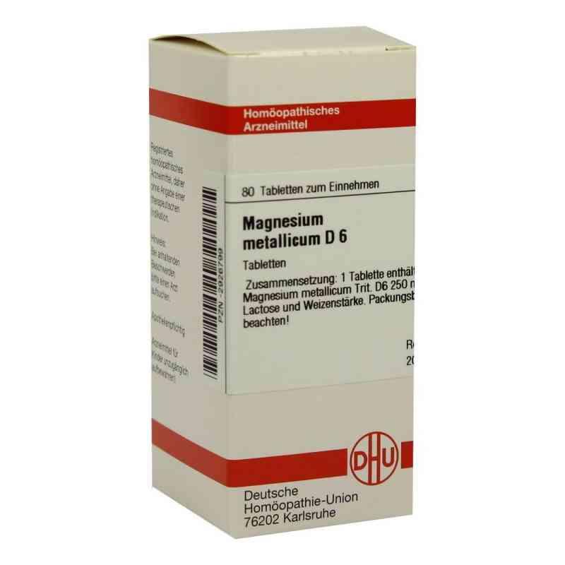 Magnesium Metallicum D6 Tabletten  bei juvalis.de bestellen