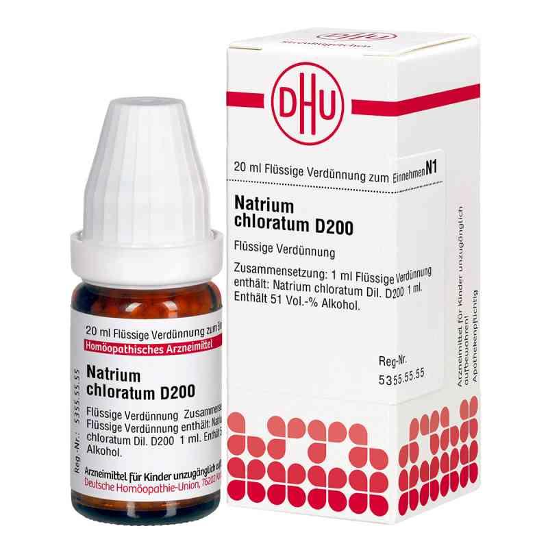Natrium Chloratum D200 Dilution  bei juvalis.de bestellen
