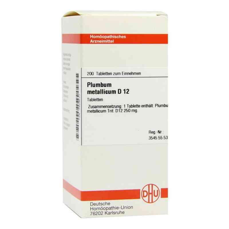 Plumbum Met. D12 Tabletten  bei juvalis.de bestellen