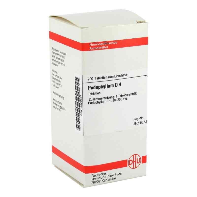 Podophyllum D4 Tabletten  bei juvalis.de bestellen