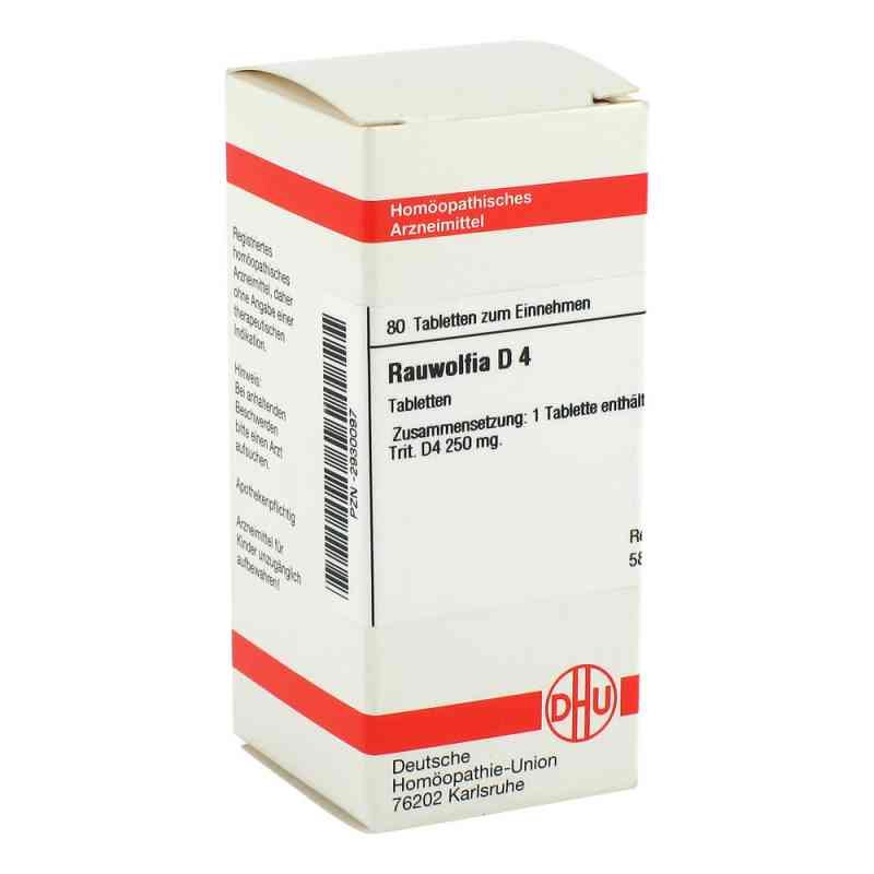 Rauwolfia D4 Tabletten  bei juvalis.de bestellen