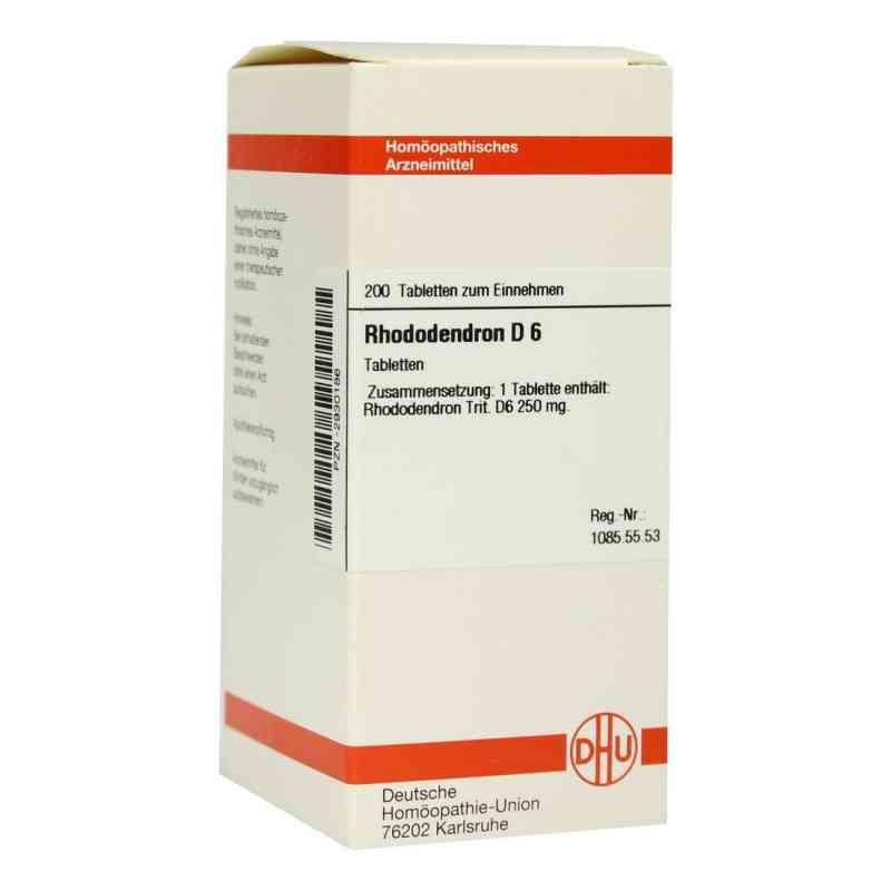Rhododendron D6 Tabletten  bei juvalis.de bestellen