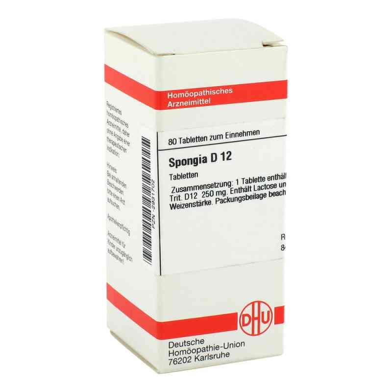 Spongia D12 Tabletten  bei juvalis.de bestellen