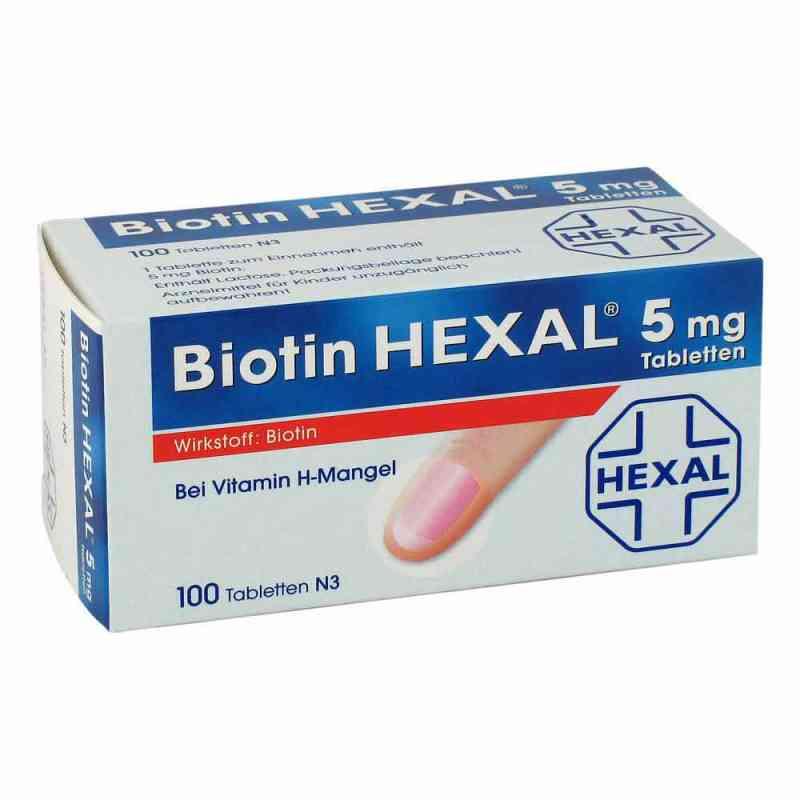 Biotin Hexal 5 mg Tabletten  bei juvalis.de bestellen