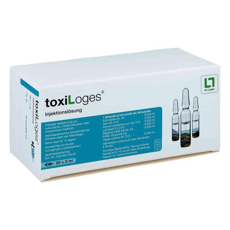 Toxi Loges Injektionslösung Ampullen  bei juvalis.de bestellen
