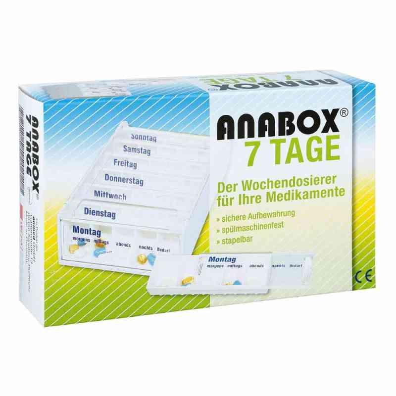 Anabox 7 Tage Wochendosierer weiss  bei juvalis.de bestellen