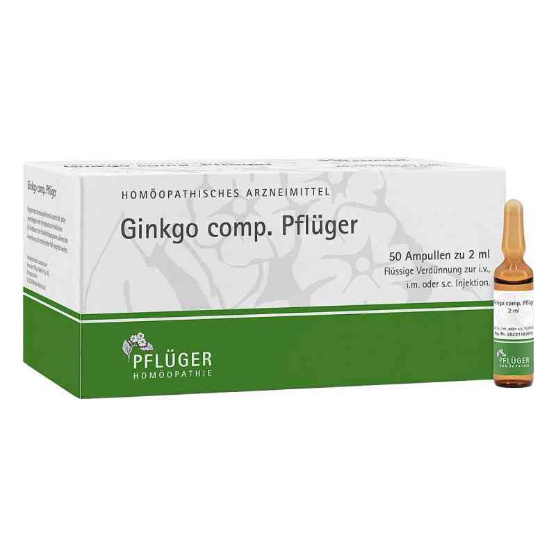 Ginkgo Comp.pflüger Ampullen  bei juvalis.de bestellen
