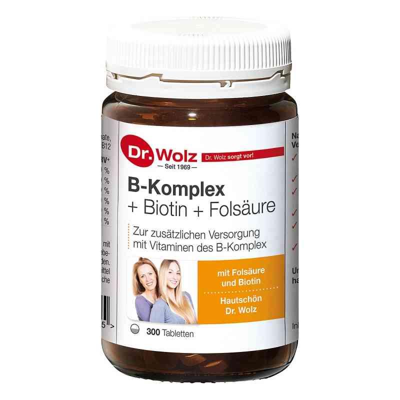 B Komplex + Biotin + Folsäure Tabletten  bei juvalis.de bestellen