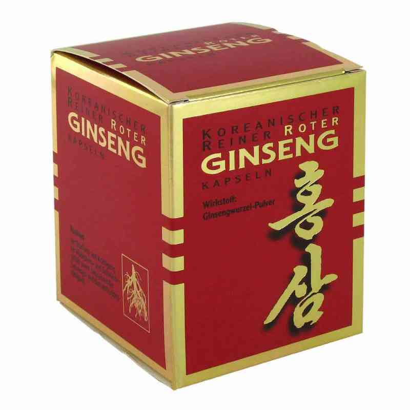 Koreanischer Reiner Roter Ginseng Kapseln 300mg  bei juvalis.de bestellen