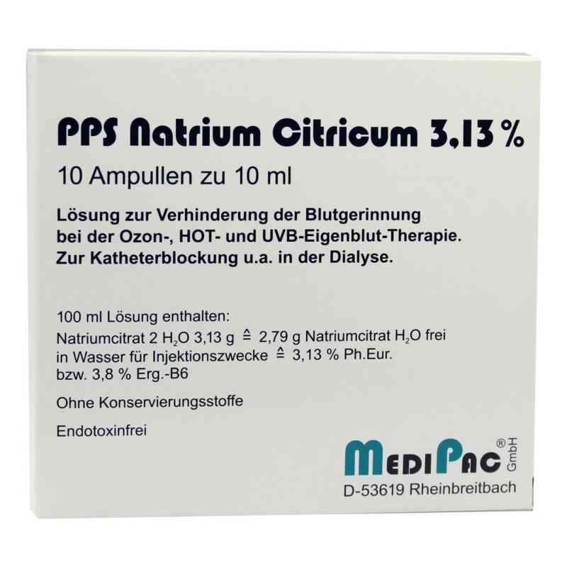 Natriumcitrat 3,13% Ampullen  bei juvalis.de bestellen