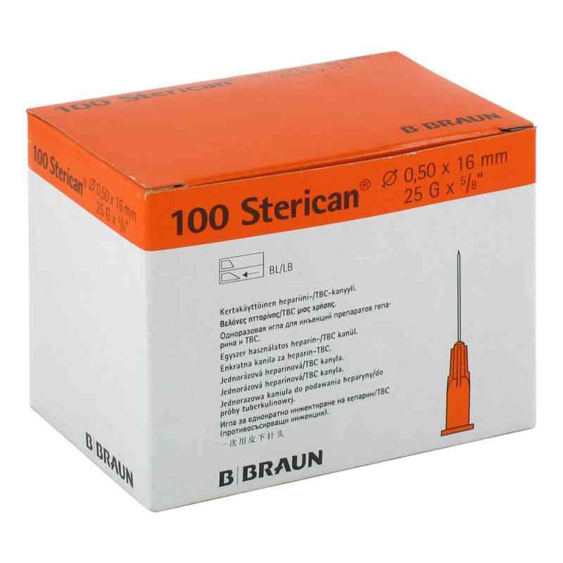 Sterican Ins.einm.kan.0,50x16mm  bei juvalis.de bestellen