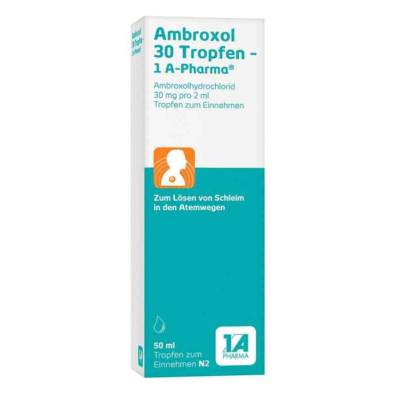 Ambroxol 30 Tropfen-1A Pharma  bei juvalis.de bestellen