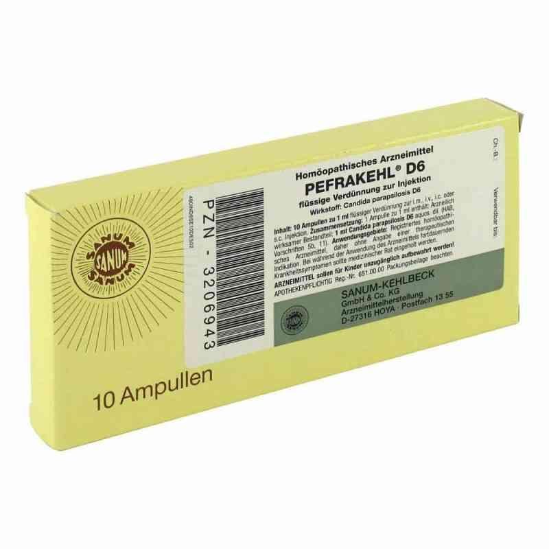 Pefrakehl Ampullen D 6  bei juvalis.de bestellen