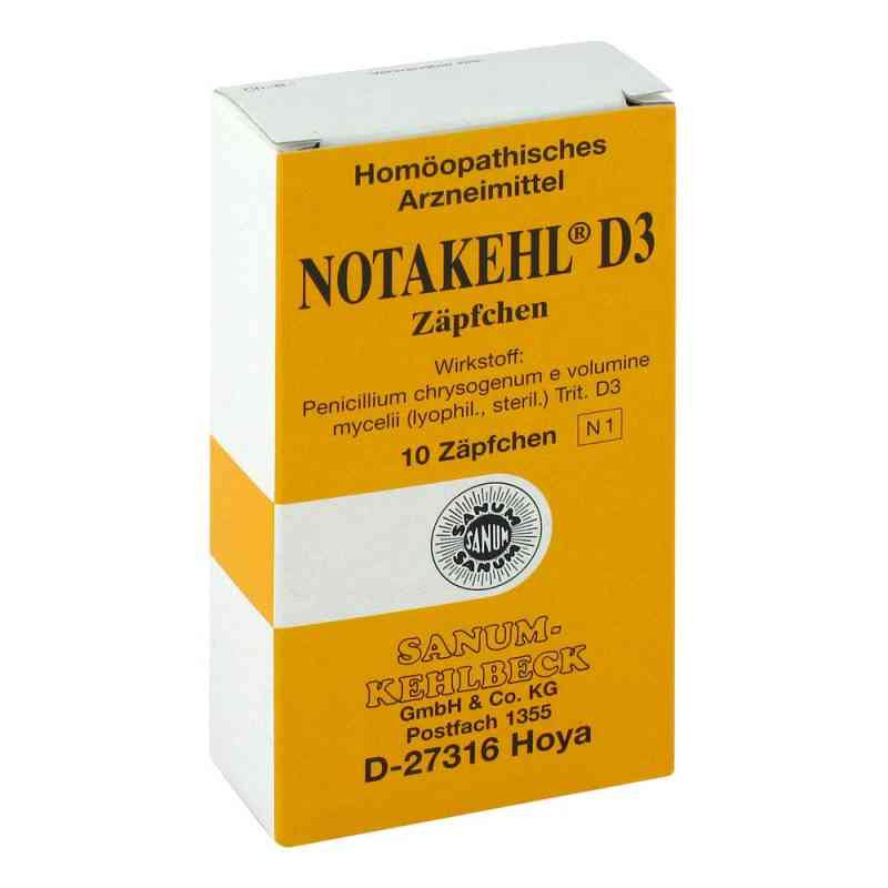 Notakehl D3 Suppositorien  bei juvalis.de bestellen