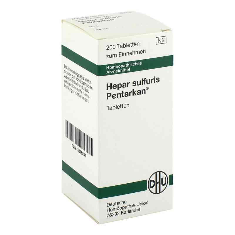 Hepar Sulfuris Pentarkan Tabletten  bei juvalis.de bestellen