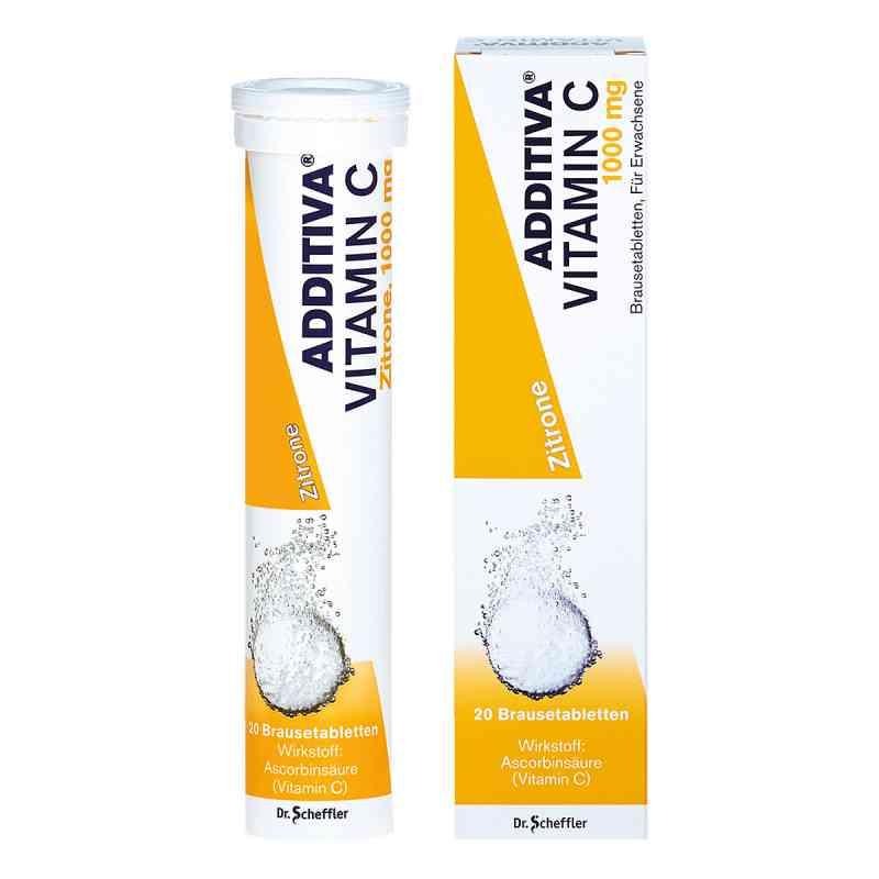 Additiva Vitamin C1 g Brausetabletten  bei juvalis.de bestellen