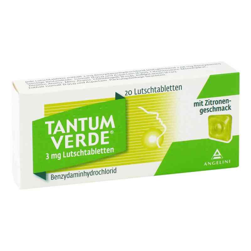 Tantum Verde 3 mg mit Zitronengeschmack Lutschtab.  bei juvalis.de bestellen