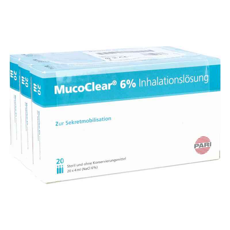 Mucoclear 6% Nacl Inhalationslösung  bei juvalis.de bestellen