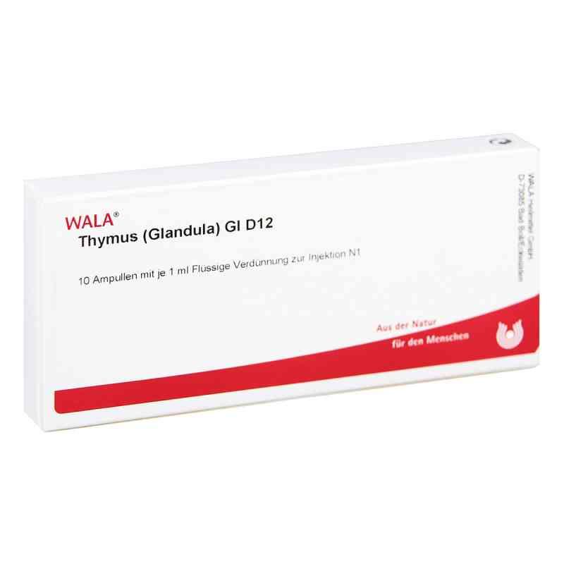 Thymus Glandula Gl D12 Ampullen  bei juvalis.de bestellen