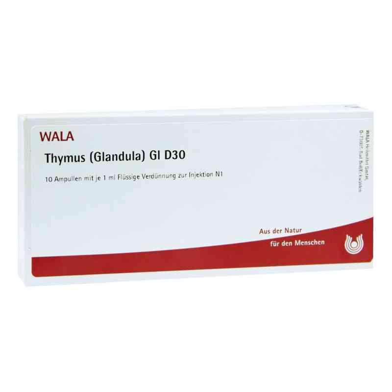 Thymus Glandula Gl D30 Ampullen  bei juvalis.de bestellen