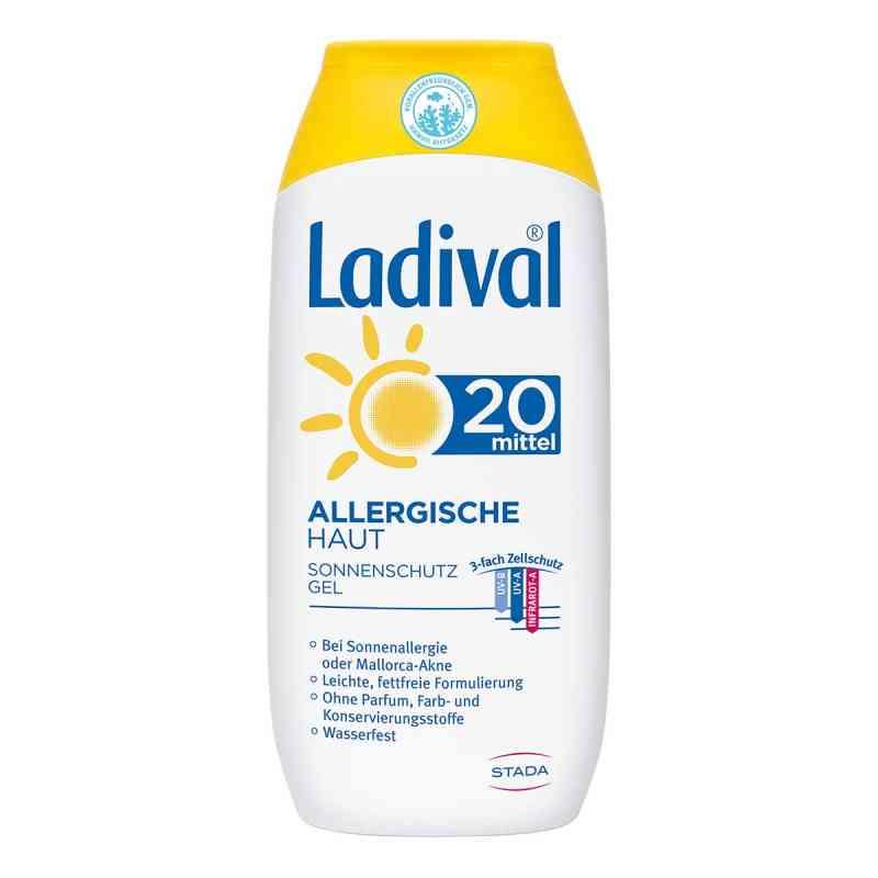 Ladival allergische Haut Gel Lsf 20  bei juvalis.de bestellen