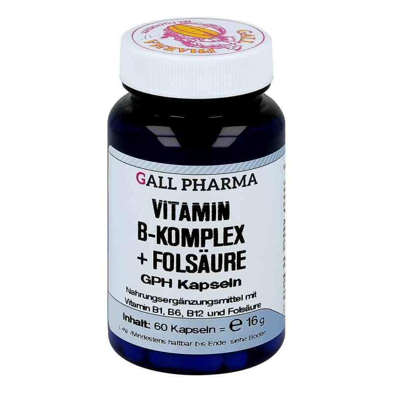 Vitamin B Komplex+folsäure Kapseln  bei juvalis.de bestellen