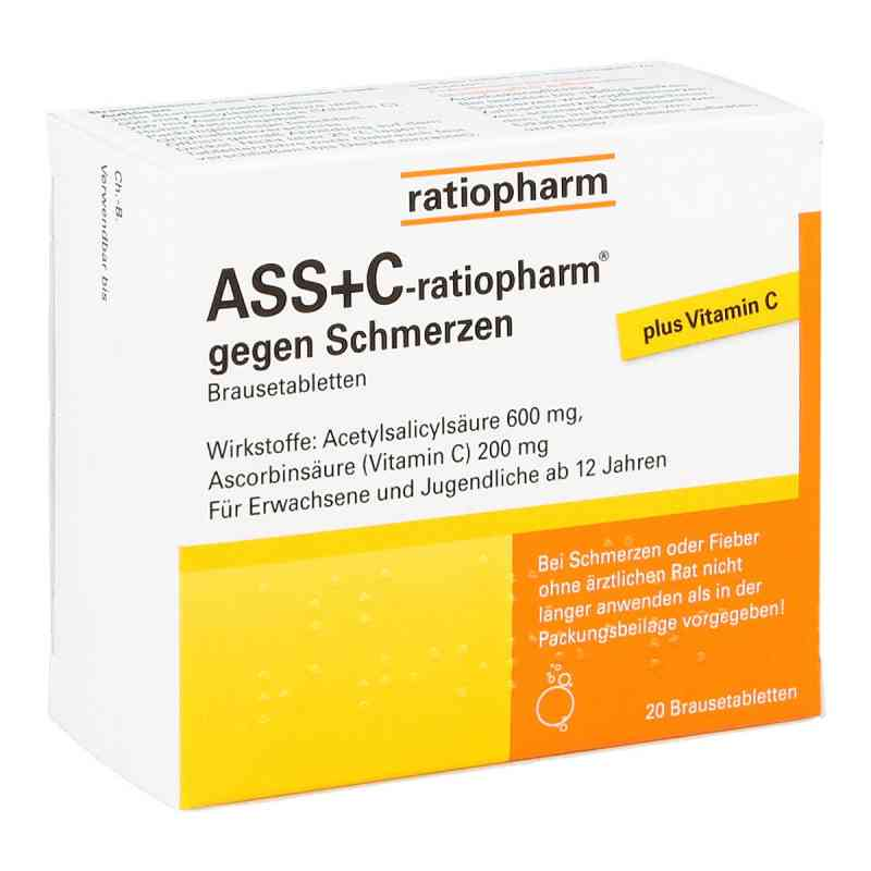 ASS+C-ratiopharm gegen Schmerzen  bei juvalis.de bestellen