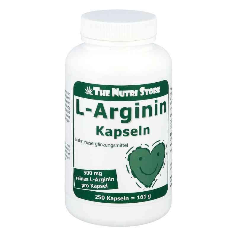 L-arginin 500 mg Kapseln  bei juvalis.de bestellen