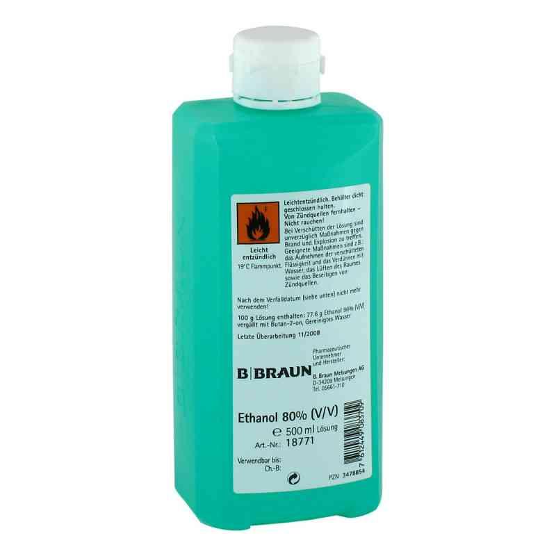 Ethanol 80% V/v Hyg.hände  bei juvalis.de bestellen