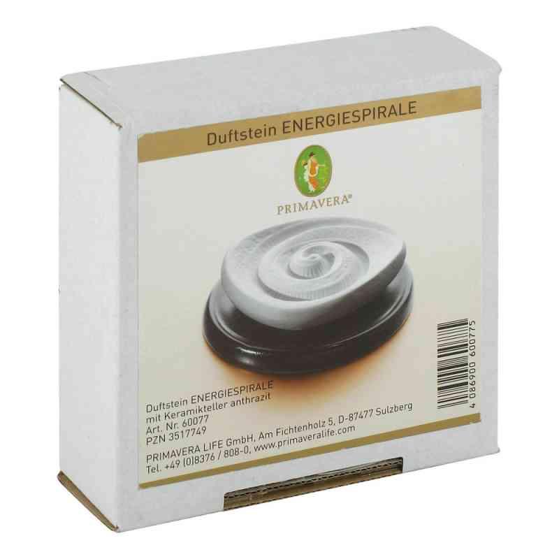 Primavera Duftstein Energiespirale Keramikteller schwarz  bei juvalis.de bestellen