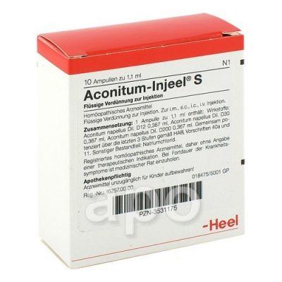 Aconitum Injeel S Ampullen  bei juvalis.de bestellen