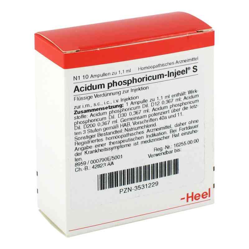 Acidum Phosphoricum Injeel S Ampullen  bei juvalis.de bestellen