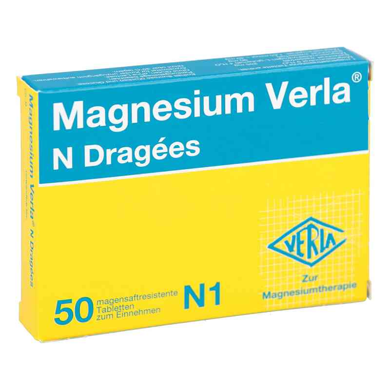 Magnesium Verla N Dragees  bei juvalis.de bestellen