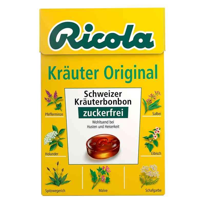 Ricola ohne Zucker Box Kräuter Bonbons  bei juvalis.de bestellen