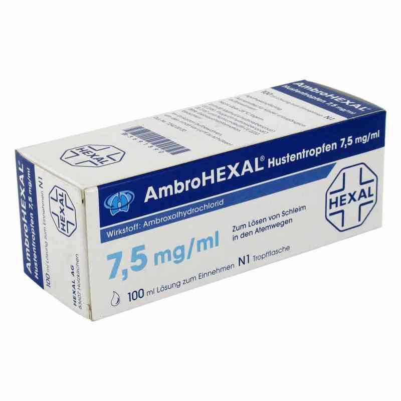 AmbroHEXAL Hustentropfen 7,5mg/ml  bei juvalis.de bestellen