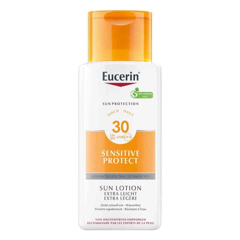 Eucerin Sun Sensitive Protect Lotion Extra Light LSF 30  bei juvalis.de bestellen