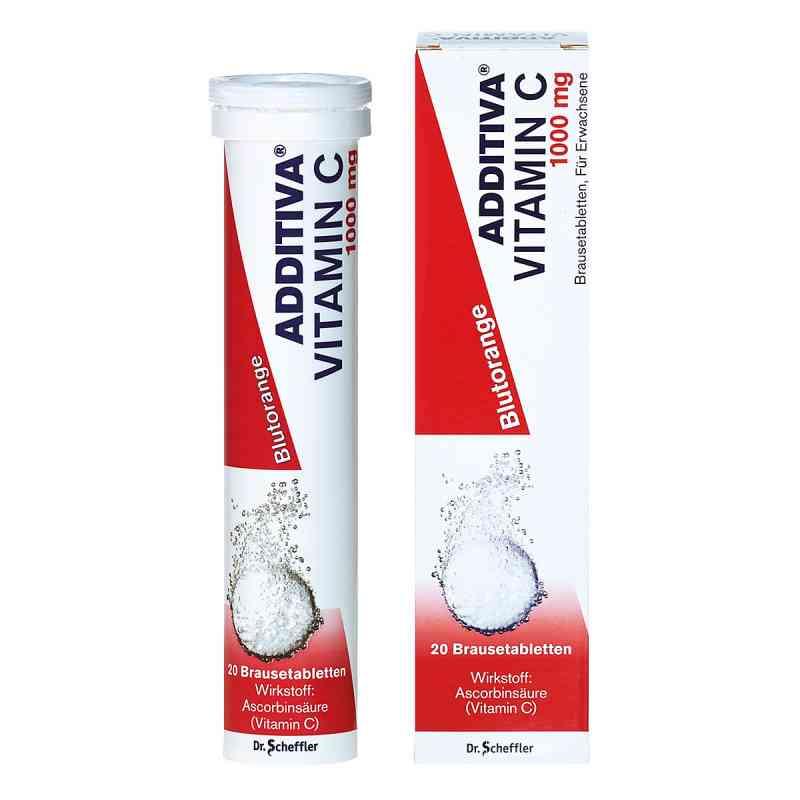 Additiva Vitamin C Blutorange Brausetabletten  bei juvalis.de bestellen