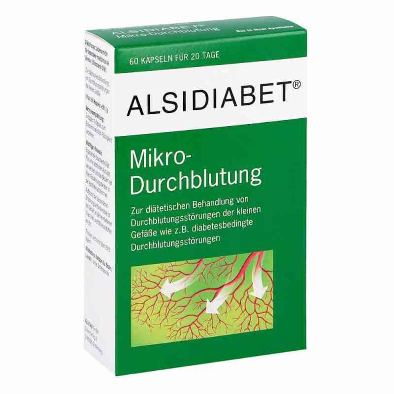 Alsidiabet Diabetiker Mikro Durchblutung Kapseln  bei juvalis.de bestellen