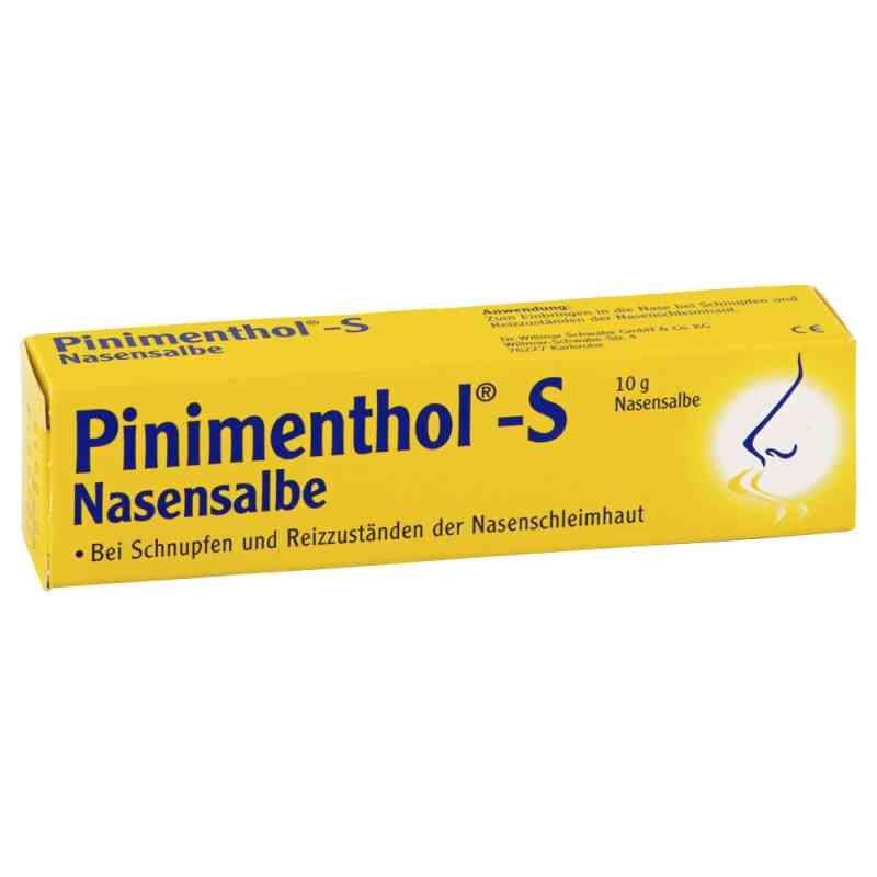 Pinimenthol S Nasensalbe  bei juvalis.de bestellen