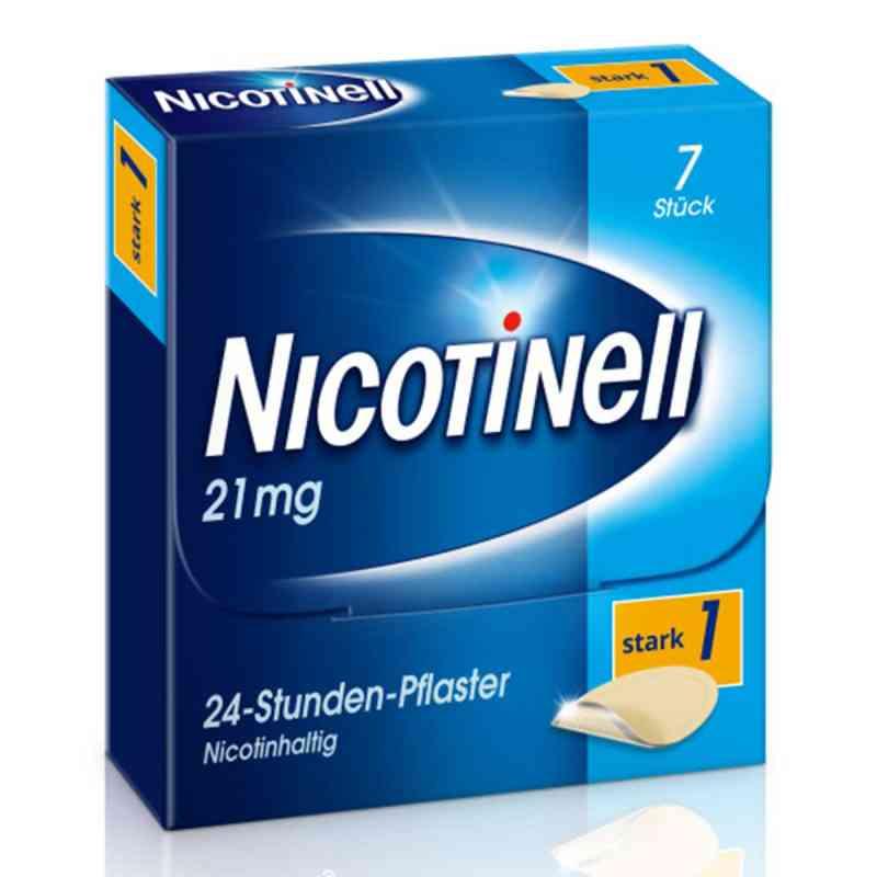 Nicotinell 21mg/24-Stunden-Nikotinpflaster, Stark (1)  bei juvalis.de bestellen