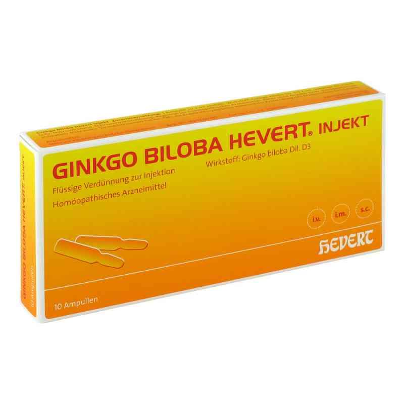 Ginkgo Biloba Hevert Injekt Ampullen  bei juvalis.de bestellen