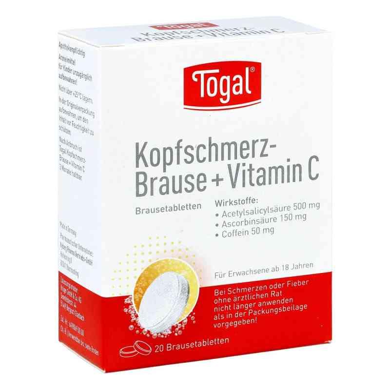 Togal Kopfschmerz-Brause+Vitamin C  bei juvalis.de bestellen