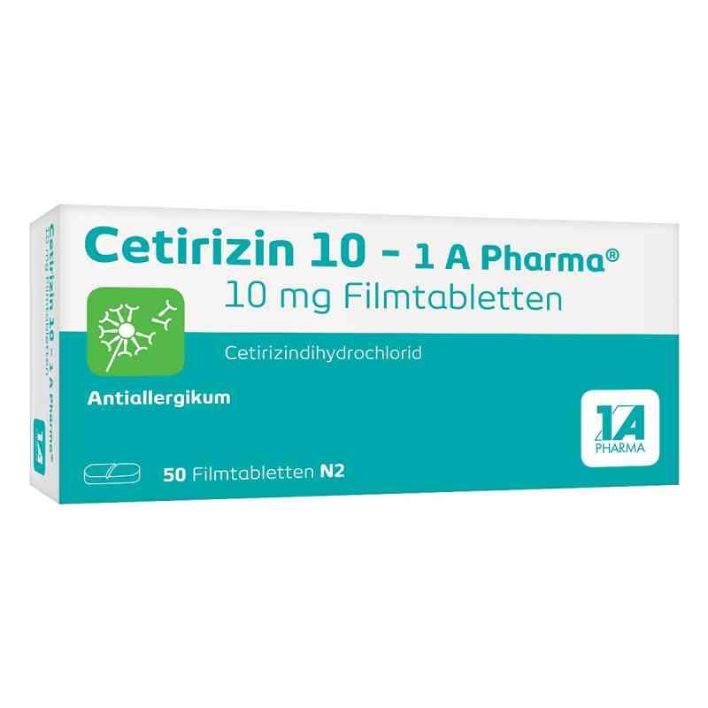 Cetirizin 10-1A Pharma  bei juvalis.de bestellen