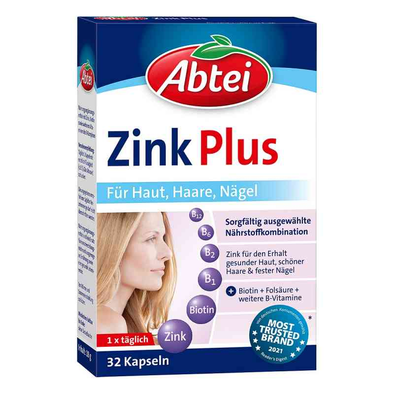 Abtei Zink Plus Nährstoff Kapseln  bei juvalis.de bestellen