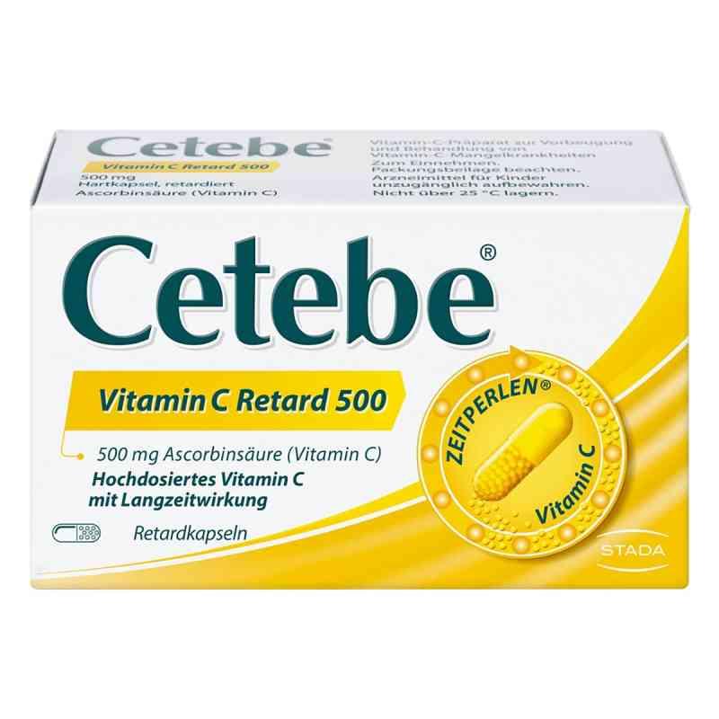 Cetebe Vitamin C Retardkapseln 500 mg  bei juvalis.de bestellen